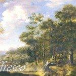Фрески классический пейзаж